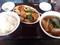 酢豚とラーメン餃子セット(餃子は後から)