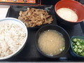 [吉野家][☆]牛皿麦とろ御膳