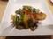 ホタテと夏野菜のオイスターソース炒め