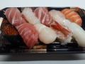 [角上魚類][☆☆☆]にぎり寿司10貫