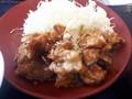 [かつや][カツ][☆]鶏ちゃん焼きチキンカツ定食