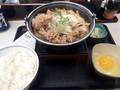 [吉野家][☆]牛すき鍋膳