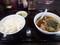 酢豚とラーメン餃子セット(酢豚と餃子は後から)