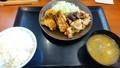 [からやま][☆]青唐辛子からあげと豚しゃぶ定食