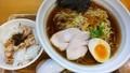 [纏][ラーメン][☆☆]ランチ(平子煮干そば+ミニチャーシュー丼)