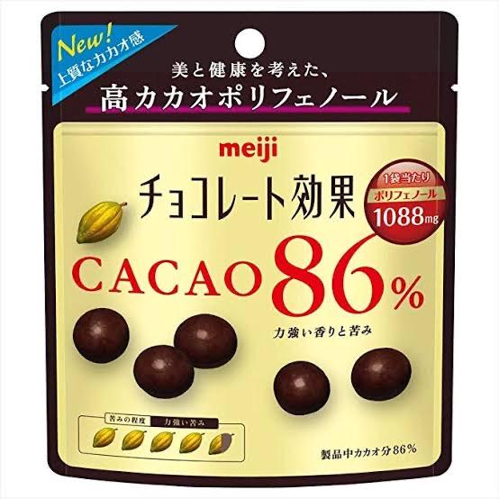明治 チョコレート効果86%