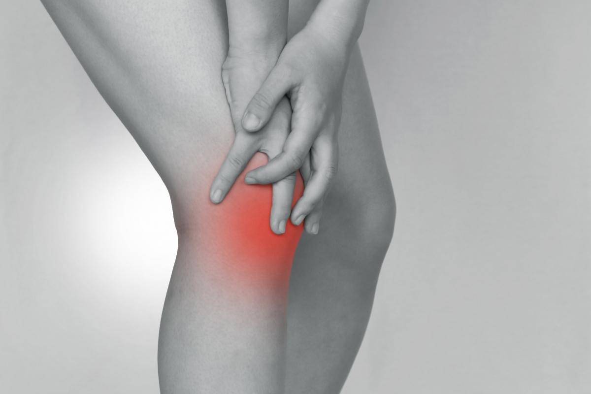 膝の怪我イメージ