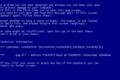 Windows XP ブルースクリーンエラー
