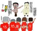 サッカー北朝鮮に敗北★