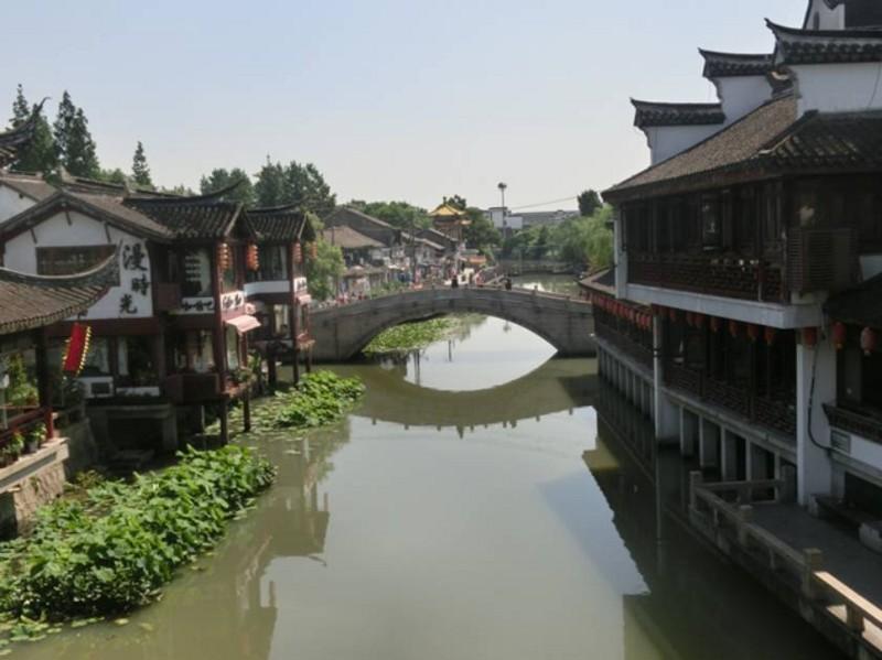 上海近場の水郷 七宝古鎮