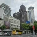 人民広場付近の上海飯店