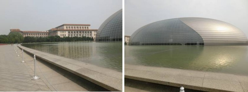 人民大会堂と国立劇場