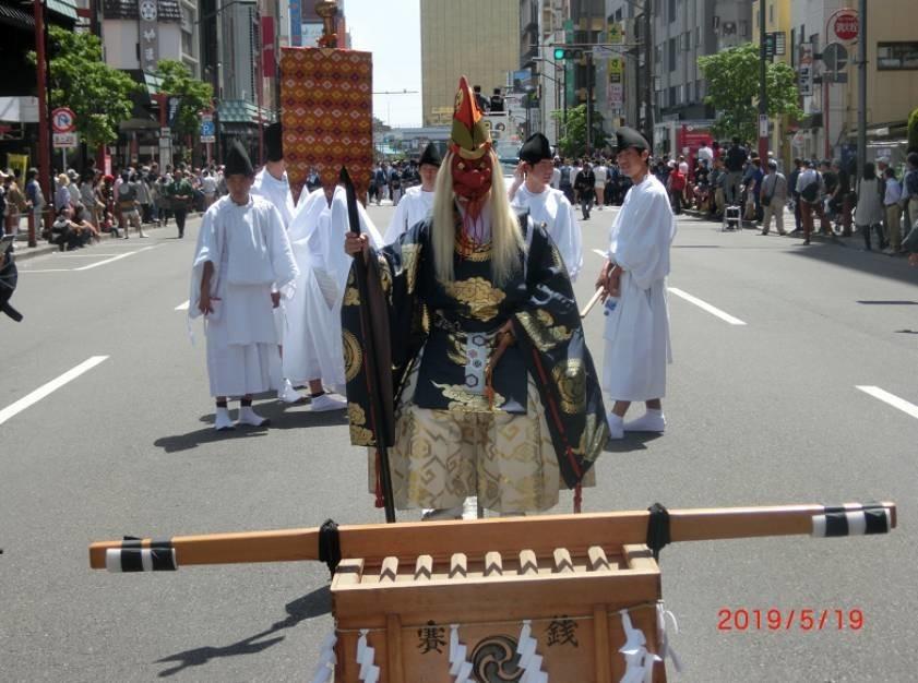 浅草三社祭の神輿見てきた♪