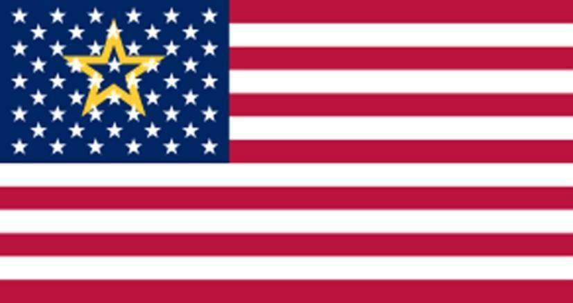 51州に成った時のアメリカ国旗案1