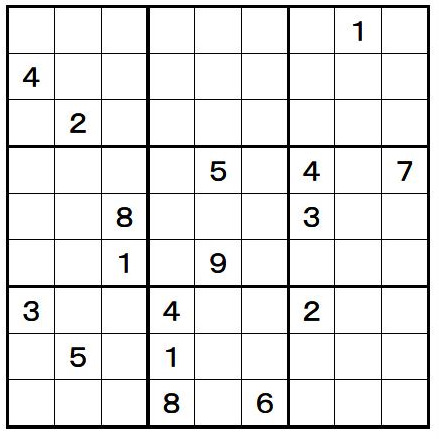 数 独 中級 解き方・中級編 - BiG-NET
