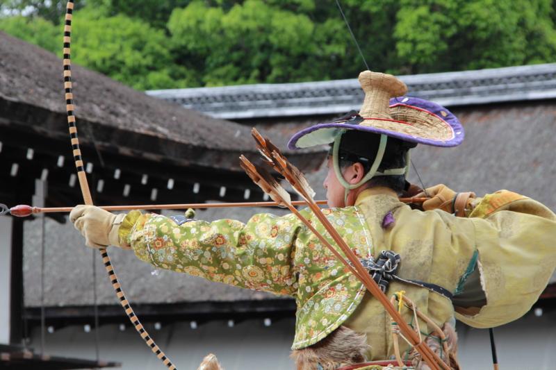 騎射稽古(下鴨神社)