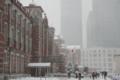 [建築][雪]雪の東京駅(1月14日)