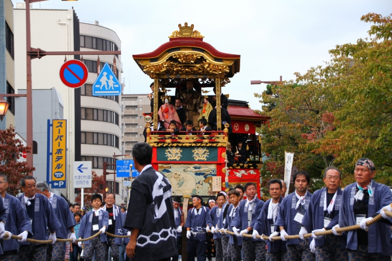 京都新聞写真コンテスト 曳き手の方々(大津祭)