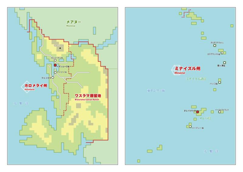 ユイツァル地図B