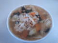 チョングッチャン(納豆チゲ)風スープ