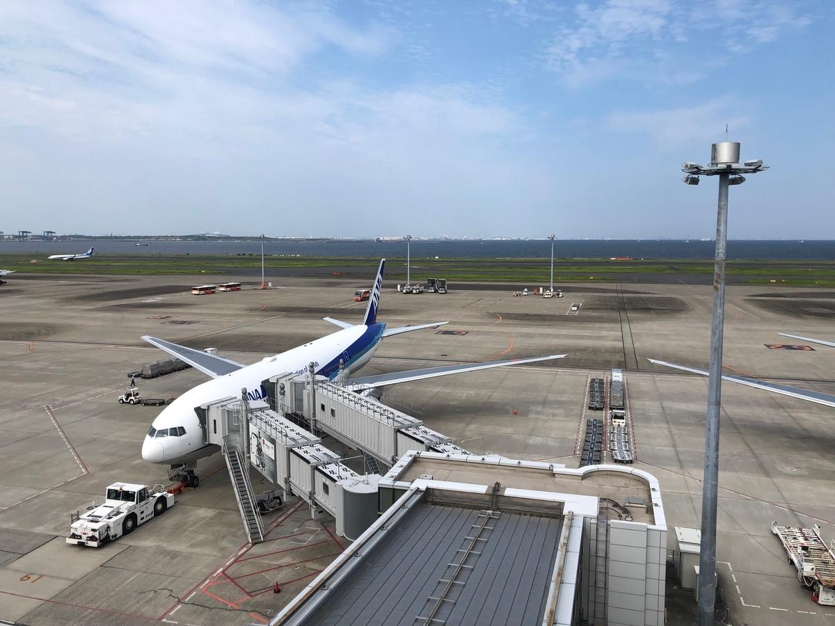 羽田空港展望デッキからの景色