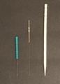 爪楊枝と鍼の比較