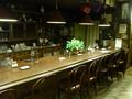 レトロな雰囲気の喫茶店で晩御飯