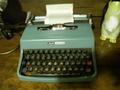 タイプライター!