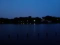 日没後の池 オバケもいない