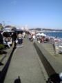 [ウインドサーフィン] 津久井浜海岸 ピザーラ クア・アイナカップ2008 ビーチ付近