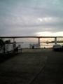 [ウインドサーフィン] 津久井浜海岸 ピザーラ クア・アイナカップ2008 旅館から撮影