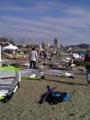 [ウインドサーフィン] 津久井浜海岸 ピザーラ クア・アイナカップ2008 ビーチ