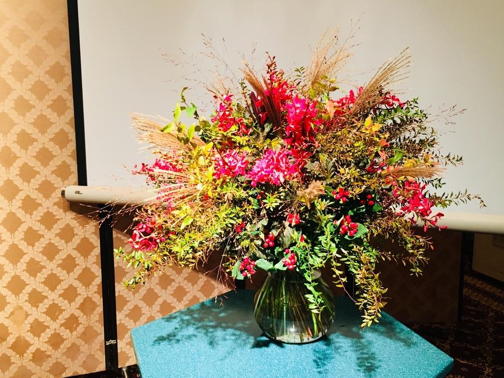 ニコライ・バーグマンの秋色花束