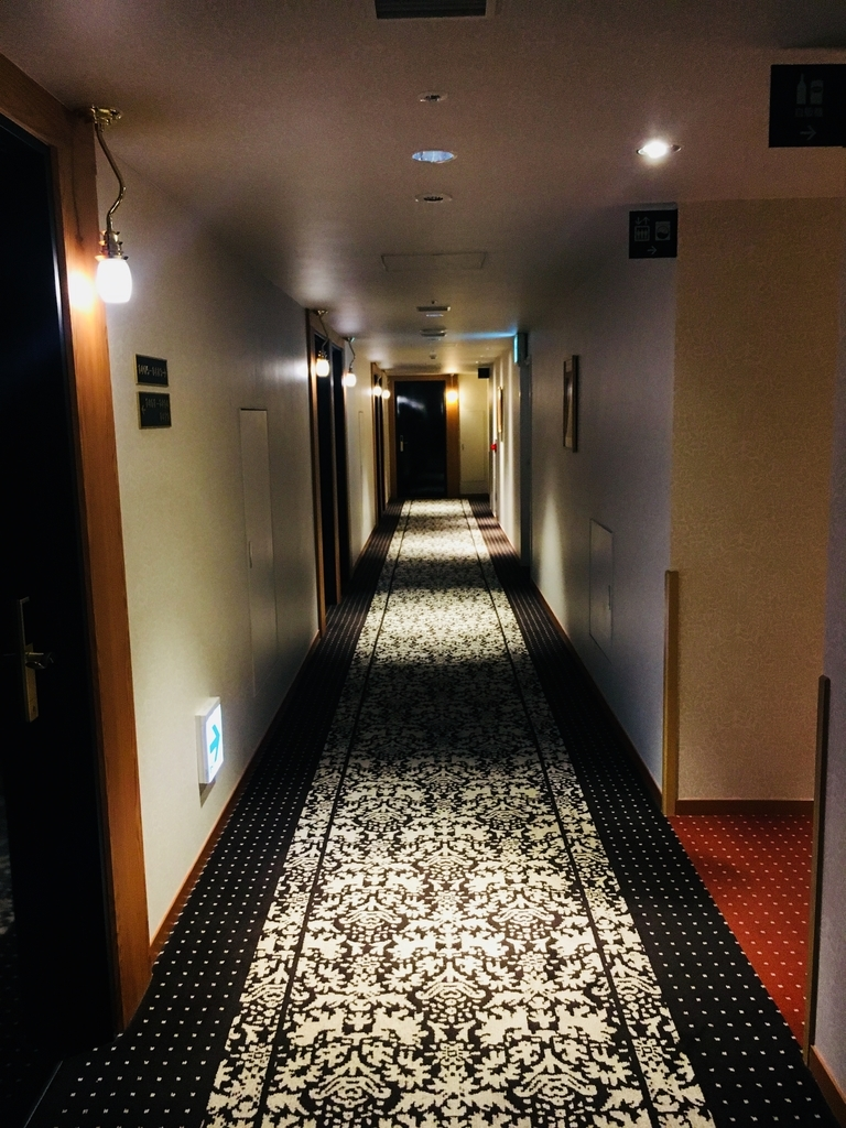 JR九州ブラッサム大分の廊下