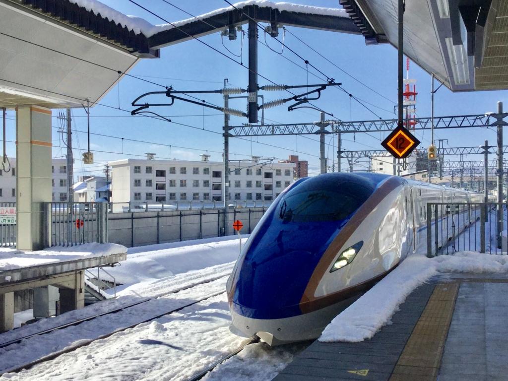 長野駅 新幹線