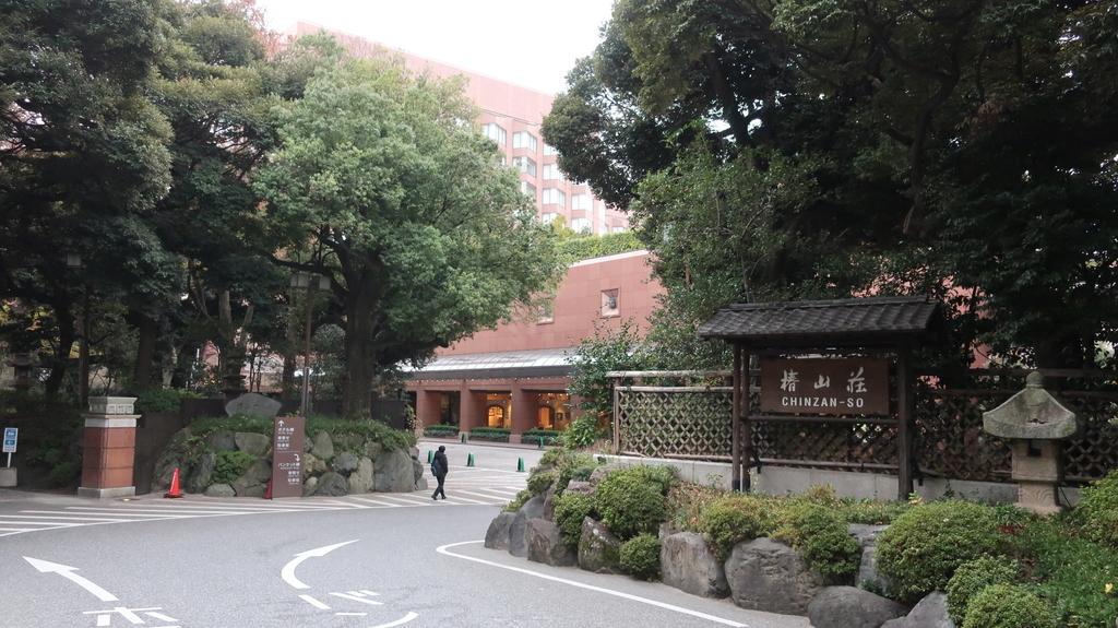 椿山荘のクリスマス
