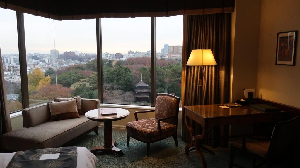 椿山荘の部屋