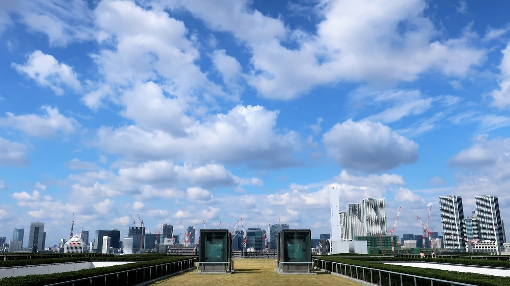 屋上緑化広場