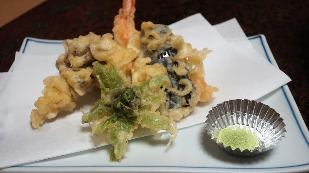 天ぷら 旅館
