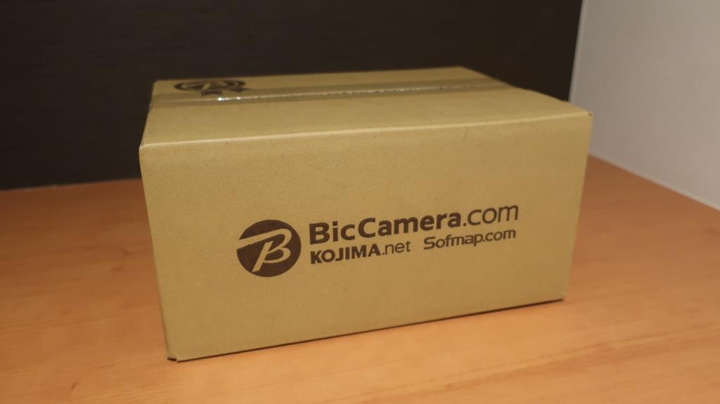 ビックカメラの箱