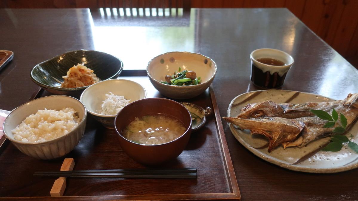 神代の湯  朝食