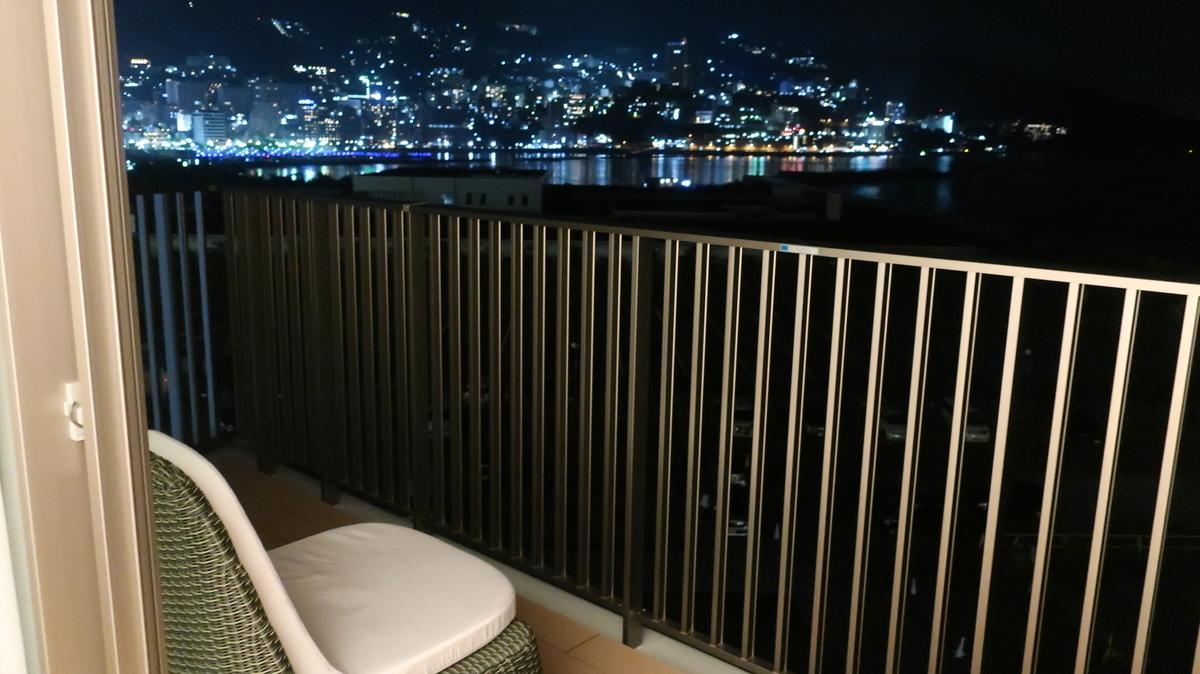 熱海後楽園ホテル  夜景