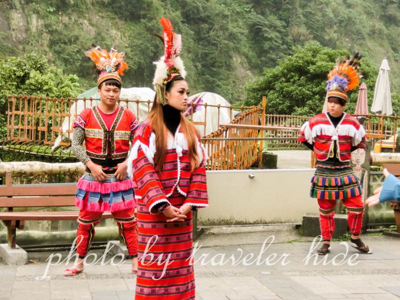酋長文化村のタイヤル族