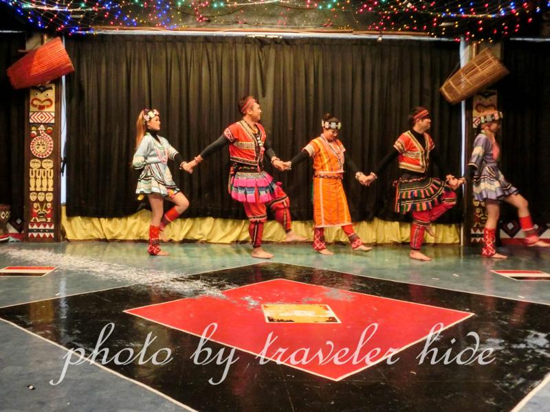 タイヤル族の踊り