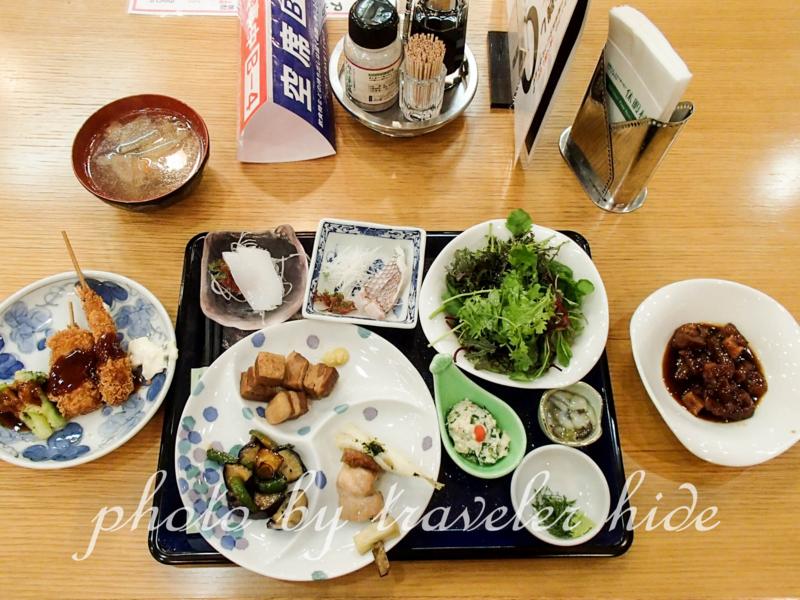 休暇村大久野島の夕食