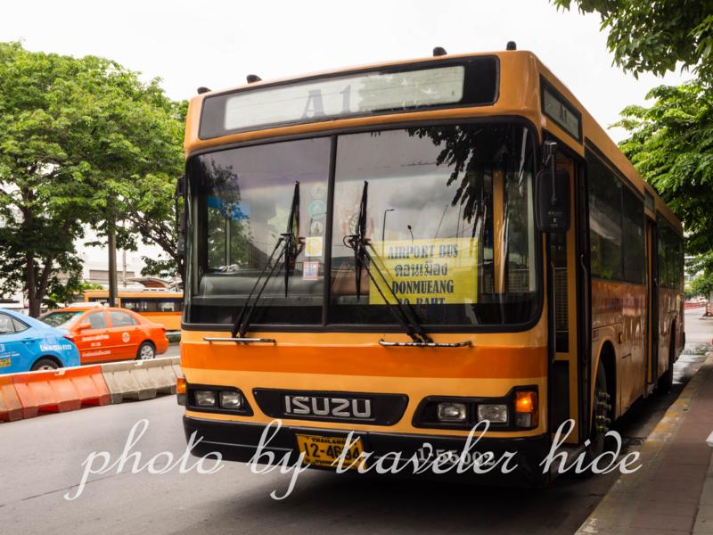 ドンムアン空港行きのエアポートバス
