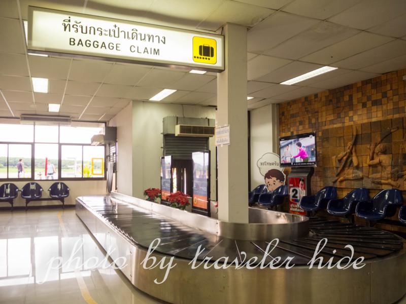 ルーイ空港のターンテーブル