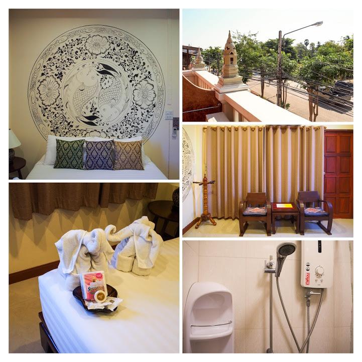 スコータイにあるウェイク・アップ・アット・ムアン・カオ・ブティック・ホテル(Wake Up at Muang Kao Boutique Hotel)の客室