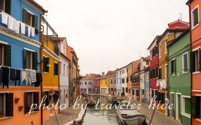 ヴェネツィア周辺の島ブラーノ島