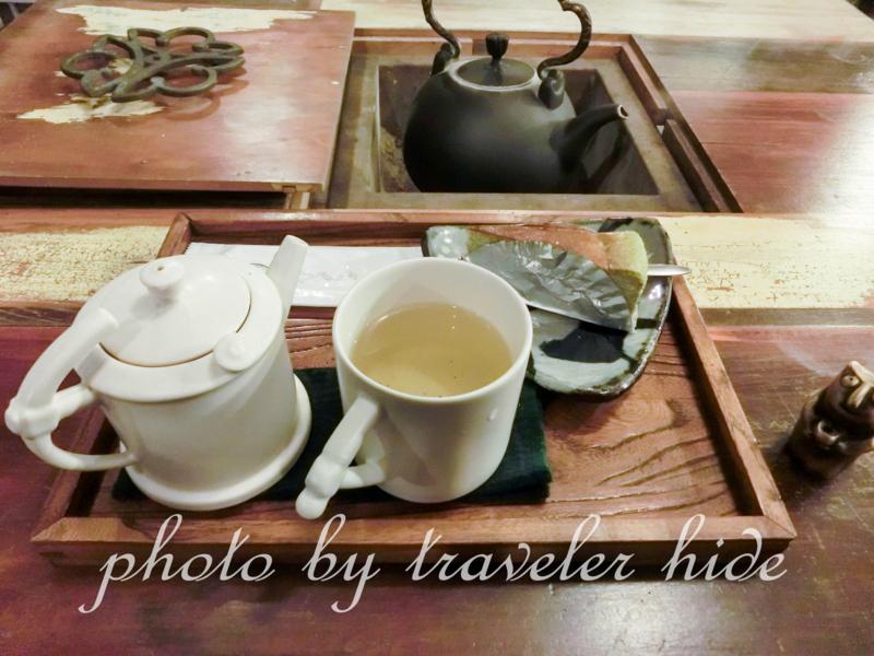 九份(きゅうふん)で茶芸